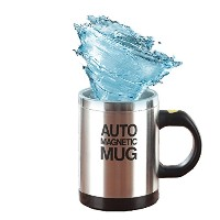 Mengshen Self Stirring Mugコーヒーカップ–ElectricステンレススチールAutomatic Self Mixing & Spinning Cup , best...