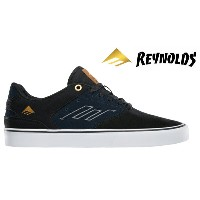 【Emerica】REYNOLDS LOW VULC  Andrew Reynolds Signature Model カラー:black/navy 【エメリカ】【スケートボード】【シューズ】
