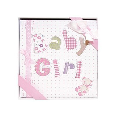 Occasions Gift Giving - Baby Girl Photo Album, Holds 72 (4 x 6) Photos by Occasions Gift Giving