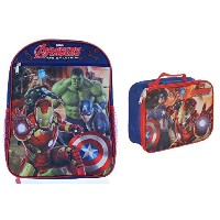 Kids Backpack with Lunch Bag Combo (Avengers) by RYC
