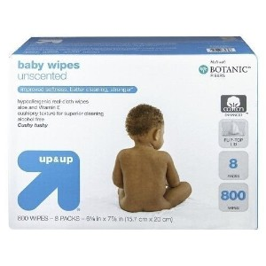 Up and Up Unscented Baby Wipes Refill Pack - 800 Count Toilet by Up & Up [並行輸入品]