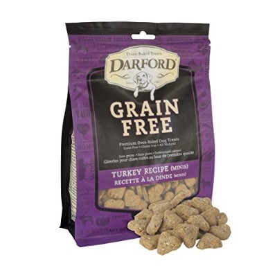 Darford Grain Free Natural Turkey Mini Biscuit All Natural Dog Pet Treats 12z