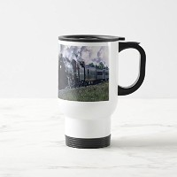 Zazzle Norfolk / Southern no. 1218 at Kenova Wvaコーヒーマグ 15 oz, Travel/Commuter Mug 270f9ead-52c8...