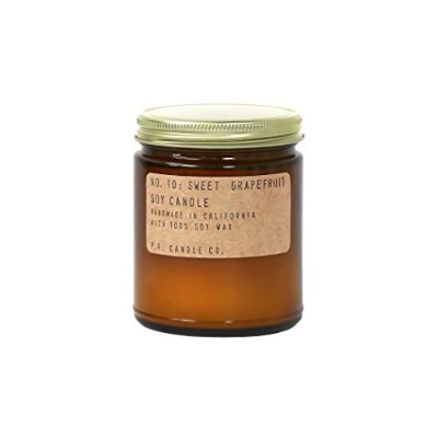 p.f. Candle Co。 – No。10 : Sweet Grapefruit Soy Candle 3.5 oz