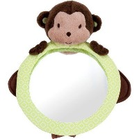 Carter's Child of Mine Plush Mirror, Monkey by Carter's