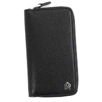 (ダンヒル) dunhill ZIP AROUND KEY CASE キーケース #L2Z2Z2A BLACK 並行輸入品