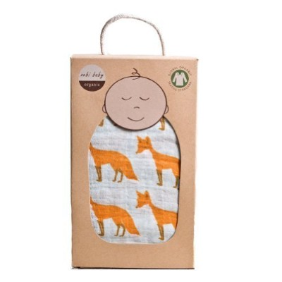 Zebi Swaddle Blanket, Fox by Zebi [並行輸入品]