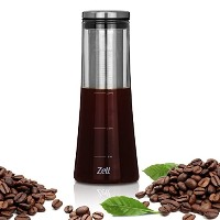 (1000 ml with Stainless Steel Filter) - Cold Brew Coffee Maker Strong borosilicate glass cold...