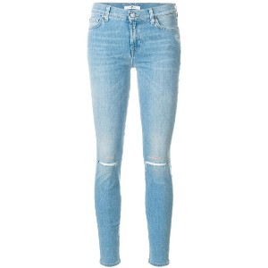 7 For All Mankind スキニージーンズ - ブルー