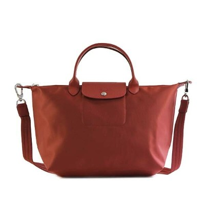 LONGCHAMP 1515-578-545LE PLIAGE NEOロンシャン ル プリアージュ ネオナナメガケバッグナイロン/レザー ROUGE
