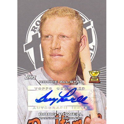MLBカード【ブーグ パウエル】 2005 Topps Rookie Cup Autograph (Boog Powell)