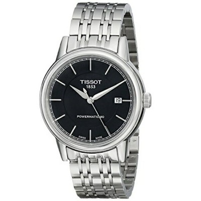 ティソ Tissot 腕時計 メンズ 時計 Tissot Men's T0854071105100 T Classic Powermatic Analog Display Swiss...