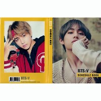 NEW 防弾少年団2018-2019スケジュールダイヤーリ with extra gift 5 photo cards (V)