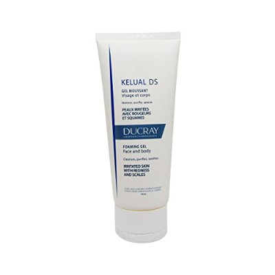 Ducray Kelual Ds Foaming Gel Face And Body 200ml [並行輸入品]