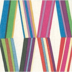 Lunch Luncheon Paper Napkins Bridal Shower Birthday Party Wedding Stripe Pierre Frey Carriacou Pk...
