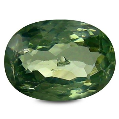 クリソベリル ルーズジェムストーン 1.24 ct GIA CERTIFIED Stone Oval Cut (8 x 6 mm) Green Chrysoberyl 100 % Genuine...