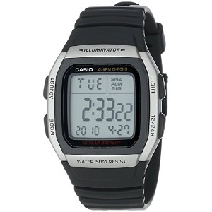High Quality Men's W96H-1AV Sport Watch with Black Band