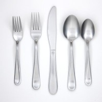 Cambridge Malibu 45 Piece Flatware Set inサテン