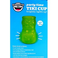 Big Mouth Inc。Party Time Tiki Light up Cupガラス20オンス