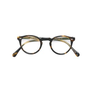 Oliver Peoples Gregory Peck 眼鏡フレーム - ブラウン