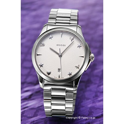 グッチ GUCCI 腕時計 G-Timeless Collection Signature YA1264028 【あす楽】