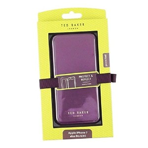 Ted Baker (テッドベーカー) スマホケース SHANNON D.PUR 129498 BOOK WITH MIRROR IPHONE 6 CASE DEEP PURPLE [並行輸入品]