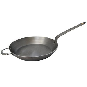 DeBuyer Mineral B Element Iron Frypan, 14.2-Inch Round by De Buyer [並行輸入品]
