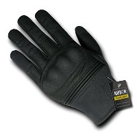 Rapdom Tactical Hard Knuckleスリップオン手袋カラー:ブラックサイズ: 2x l
