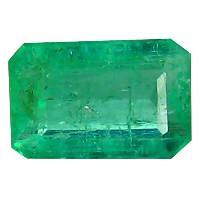 エメラルド天然ルーズジェムストーン 0.41 ct AAA Grade Octagon Shape (5 x 3 mm) Green Colombian Emerald Natural Loose...