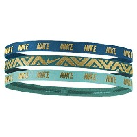nike ナイキ metallic headbands 3 pack women's レディース