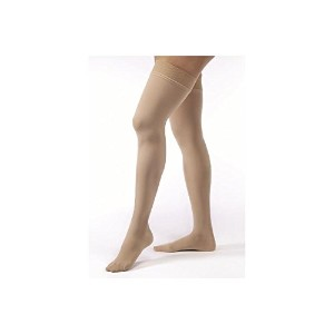 Jobst 115182 Opaque Closed Toe Thigh High 30-40 mmHg Extra Firm Support Stockings - Size & Color-...