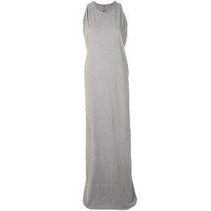 Rick Owens DRKSHDW sleeveless long dress - グレー