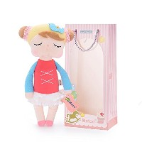 Me Too Angela Stuffed Bunny Baby Plush Rabbit人形ギフトfor Girls 12インチグレードレス。。。 12inch LYSB011Y0PWSO-TOYS