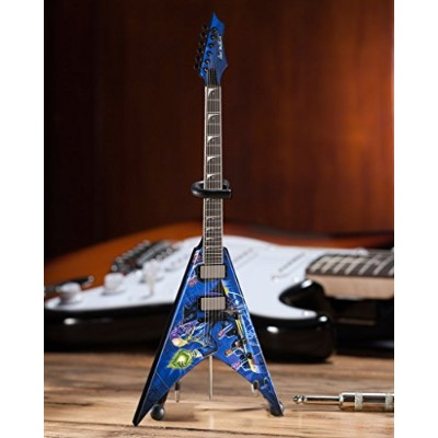 AXE HEAVEN *Licensed MEGADETH - Dave Mustaine Signature V Rust In Peace Mini Guitar [並行輸入品]