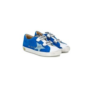 Golden Goose Deluxe Brand Kids Superstar Old School スニーカー - ブルー