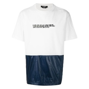 Calvin Klein 205W39nyc contrasting T-shirt - ホワイト