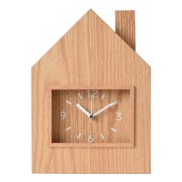 BRID 置時計 WOOD IE CLOCK with OPEN TOOL BOX
