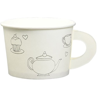 Tea Time Treat Cups withステッカー( 6)