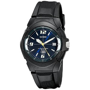 High Quality Men's MW600F-2AV Sport Watch with Black Band