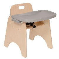 "Steffy Wood Products Highchair, 11"" Seat Height (New!)"