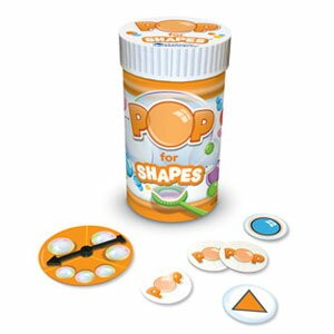 Learning Resources Pop Games - Pop for Shapes ポップゲーム(バブル) 形 LER 8453