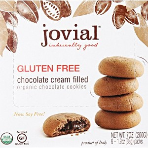 Jovial 52510 Jovial Chocolate Cream Cookies -10-7 Oz