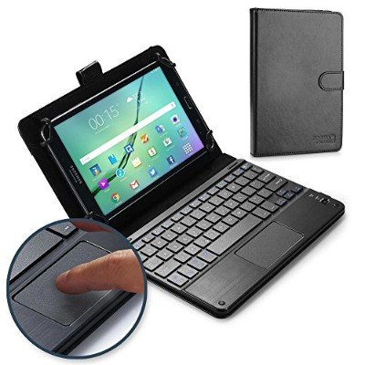 Acer Iconia W3, W4-820 キーボード ケース COOPER TOUCHPAD EXECUTIVE 2-in-1 ワイヤレス Bluetooth キーボード マウス レザー...