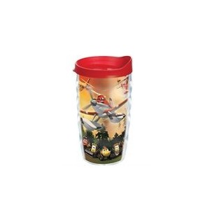 TervisタンブラーDisney Planes Fire & Rescueラップ10oz Wavy with Travel Lid
