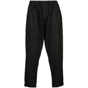 Casey Casey cropped trousers - ブラック