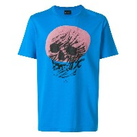 Ps By Paul Smith プリント Tシャツ - ブルー