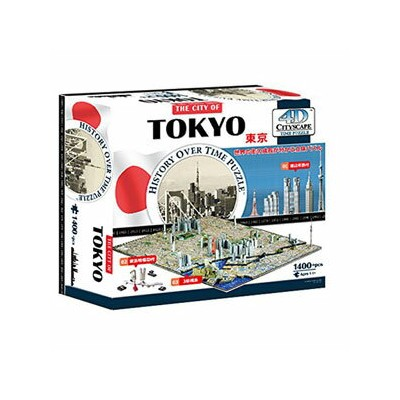 4D Cityscape Time Puzzle 4D シティスケープ タイムパズル 東京 40035