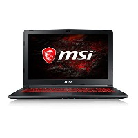 MSI 15.6型ゲーミングノートPC GL62M-7RDX-2658JP [Win10 Home・Core i7・SSD 128GB・HDD 1TB・メモリ 16GB]