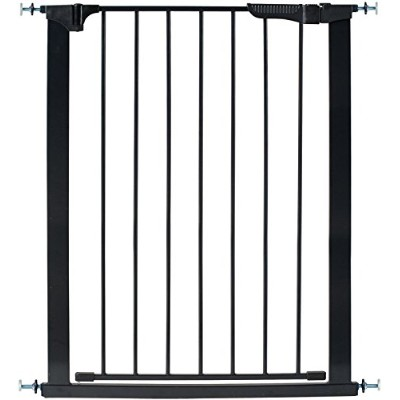 Kidco G1201 Tall and Wide Auto Close Gateway Pressure Mounted Black 29in. - 47.5in. x 36in.