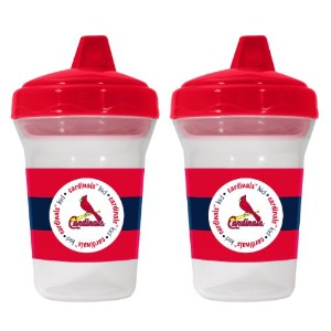 MLB St. Louis Cardinals Sippy Cups, by Baby Fanatic